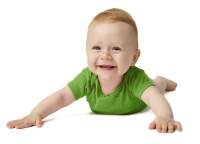 If your child is this happy doing tummy time then congratulations, you have found the Holy Grail of babies.
