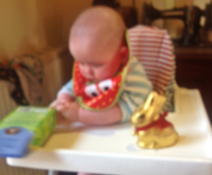 'First foods', Easter style.