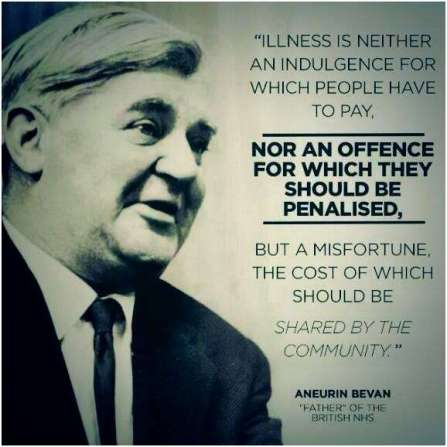Nye Bevan Quotes Nye Bevan on sick people and the welfare state